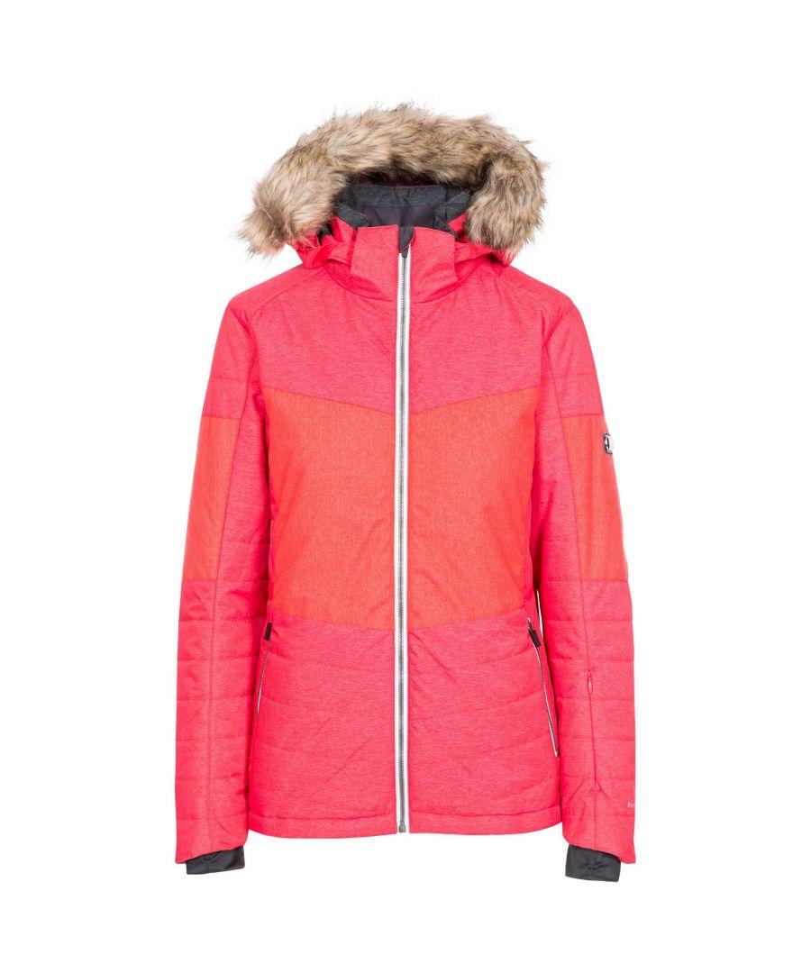 Image for Trespass Womens/Ladies Tiffany Ski Jacket (Hibiscus Red)