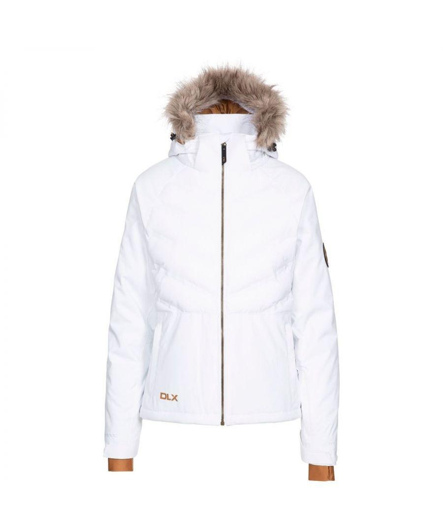 Image for Trespass Womens/Ladies Elisabeth Ski Jacket (White)