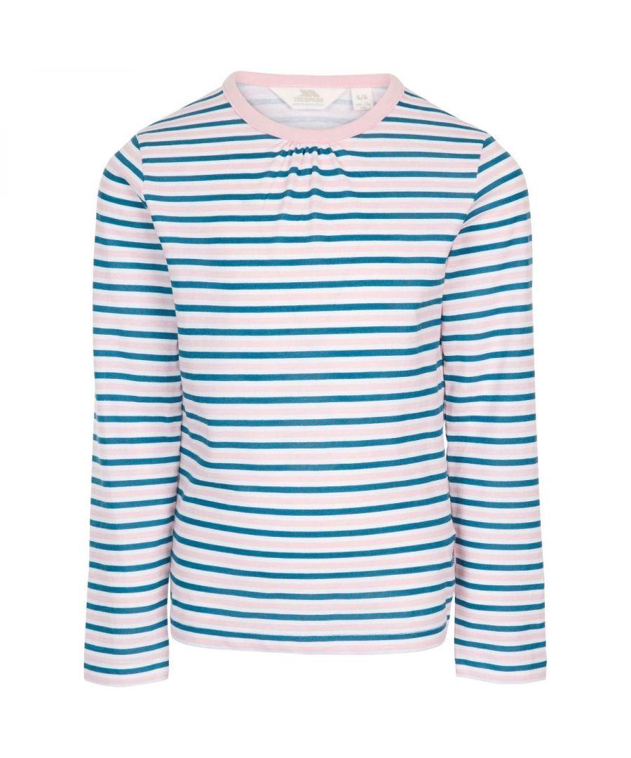 Image for Trespass Girls Proceeds Long-Sleeved T-Shirt (Cosmic Blue)