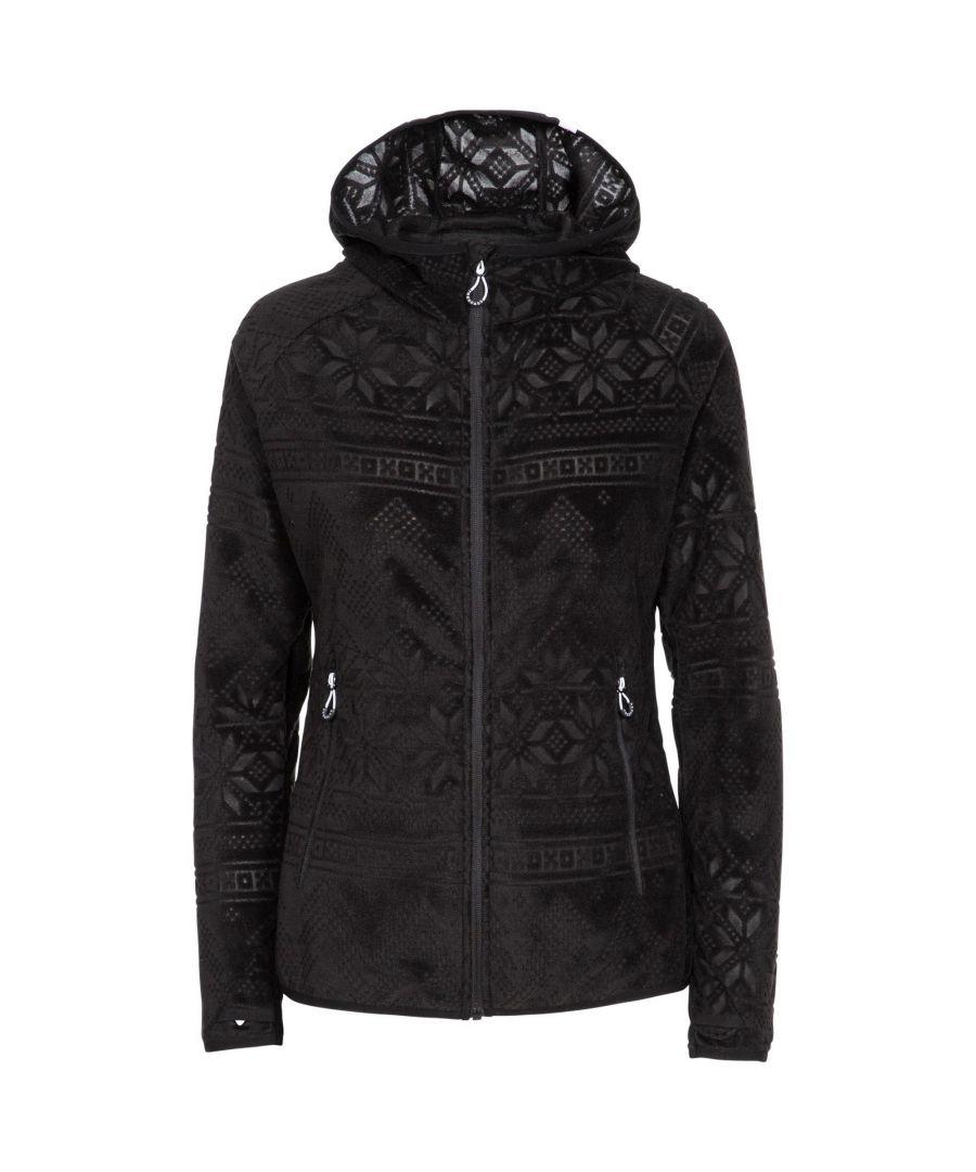 Image for Trespass Womens/Ladies Snowbelle Fleece Jacket (Black)