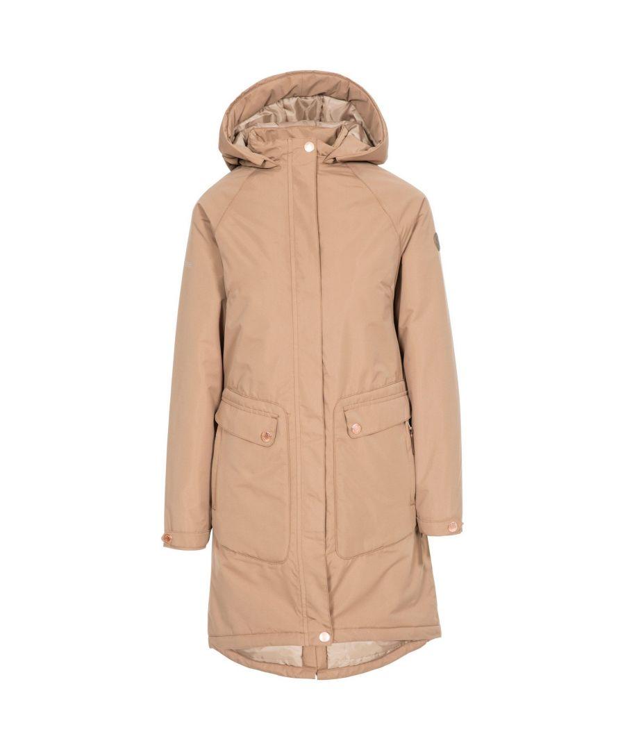 Image for Trespass Womens/Ladies Tamara Waterproof Jacket (Fudge)