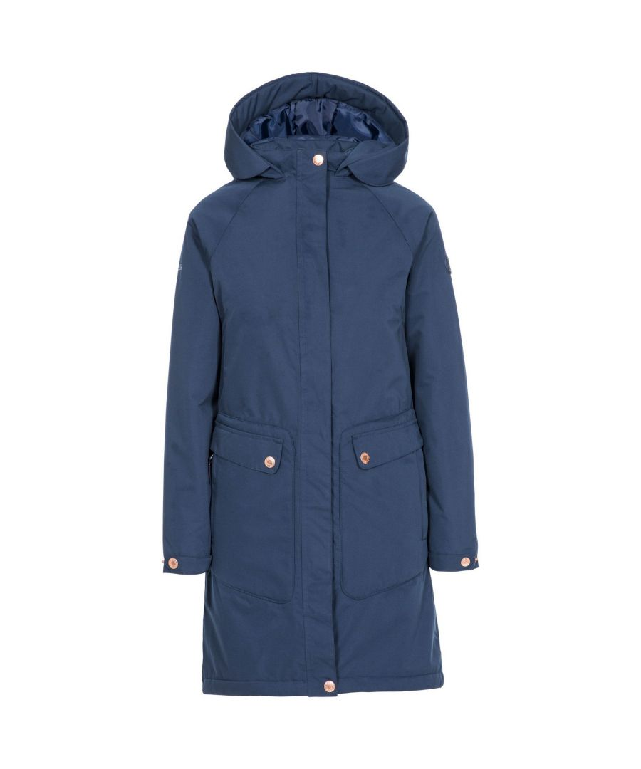 Image for Trespass Womens/Ladies Tamara Waterproof Jacket (Navy)