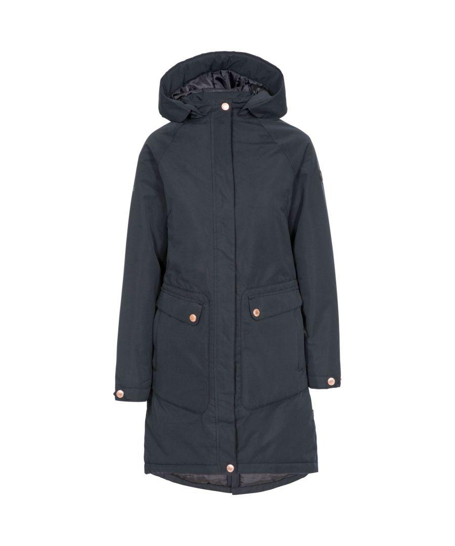 Image for Trespass Womens/Ladies Tamara Waterproof Jacket (Black)