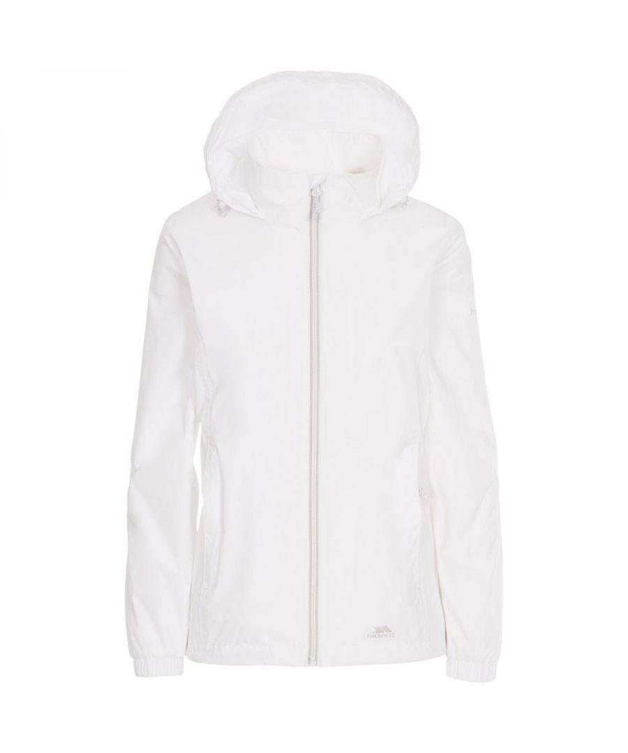 Image for Trespass Womens/Ladies Sabrina Waterproof Jacket (White)