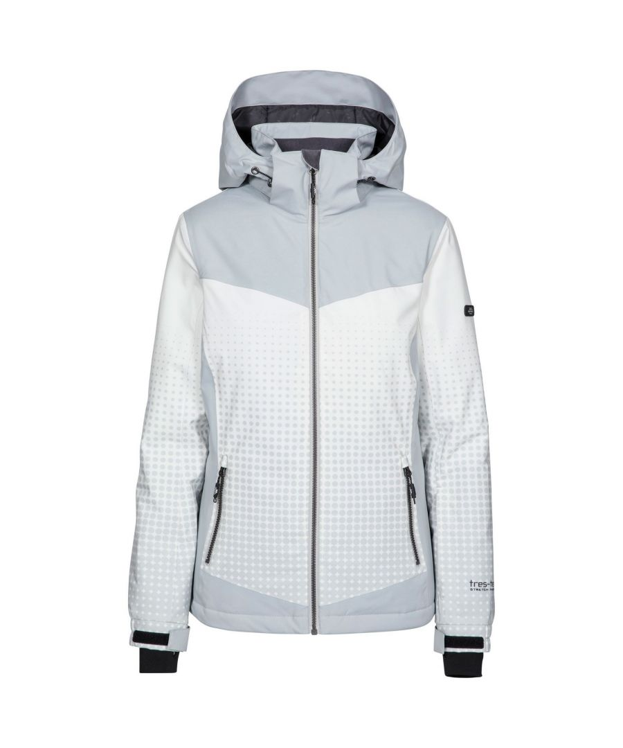 Image for Trespass Womens/Ladies Zenya Waterproof Ski Jacket (Pale Grey)