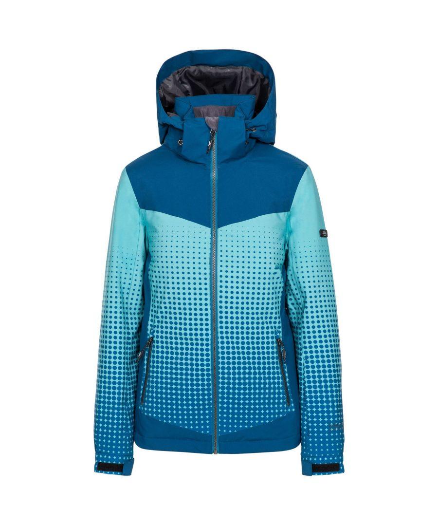 Image for Trespass Womens/Ladies Zenya Waterproof Ski Jacket (Cosmic Blue)