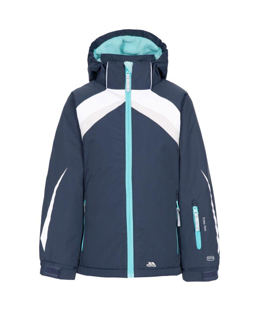 Image for Trespass Girls Distinct Ski Jacket (Navy)