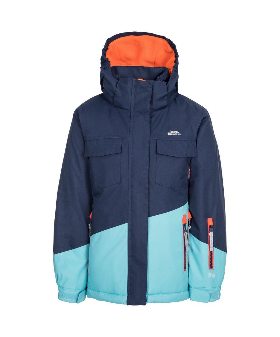 Image for Trespass Childrens/Kids Settler Ski Jacket (Navy)
