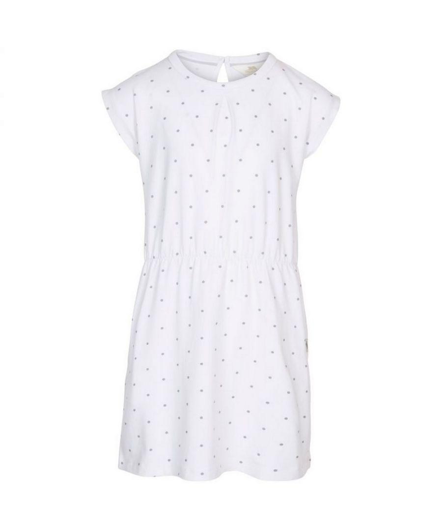 Image for Trespass Girls Mesmerised Dress (White)