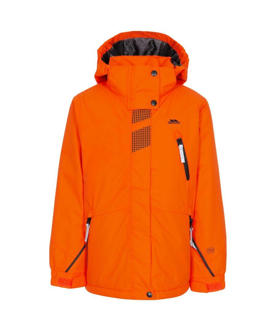 Image for Trespass Boys Rare Ski Jacket (Hot Orange)
