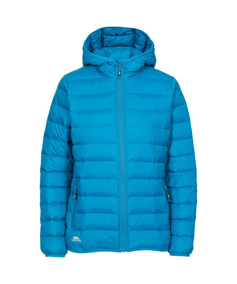 Image for Trespass Womens/Ladies Amma Down Jacket (Cosmic Blue)