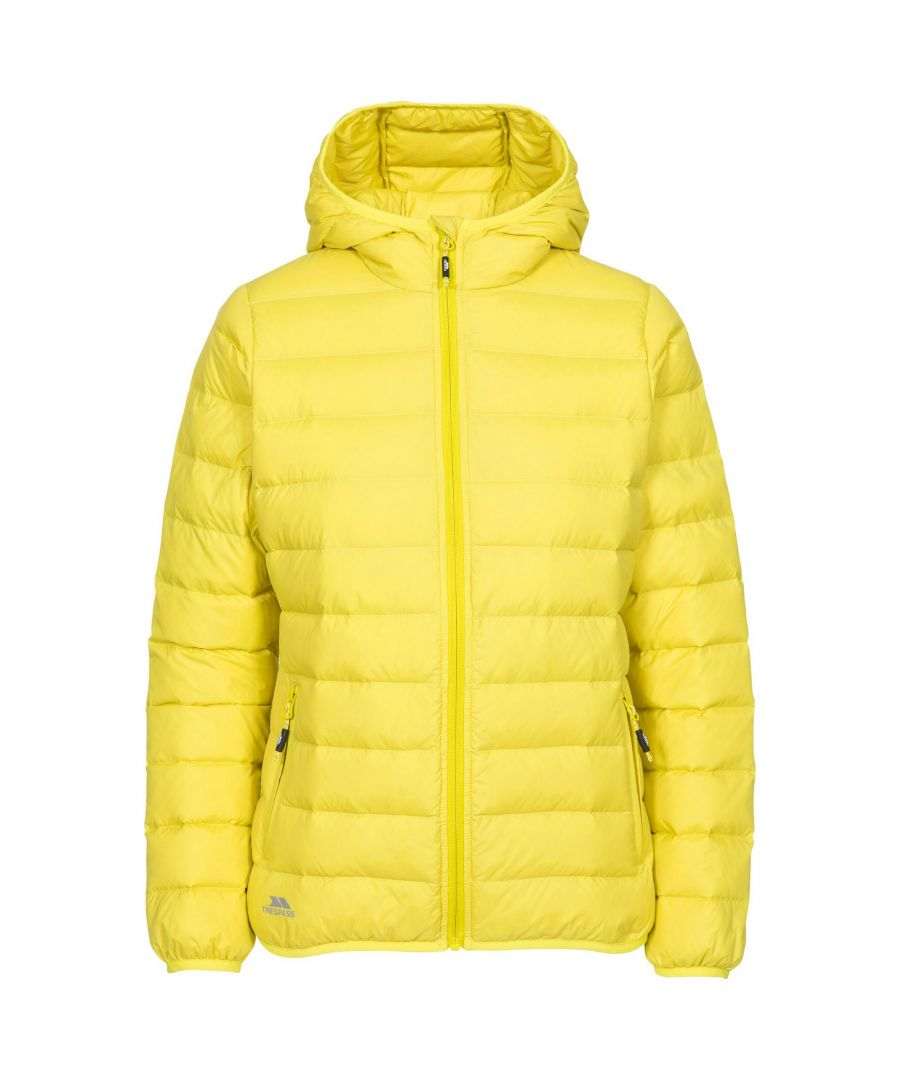 Image for Trespass Womens/Ladies Amma Down Jacket (Yellow)