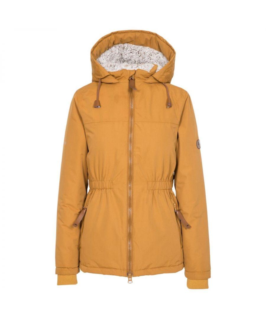 Image for Trespass Womens/Ladies Cassini Padded Jacket (Sandstone)