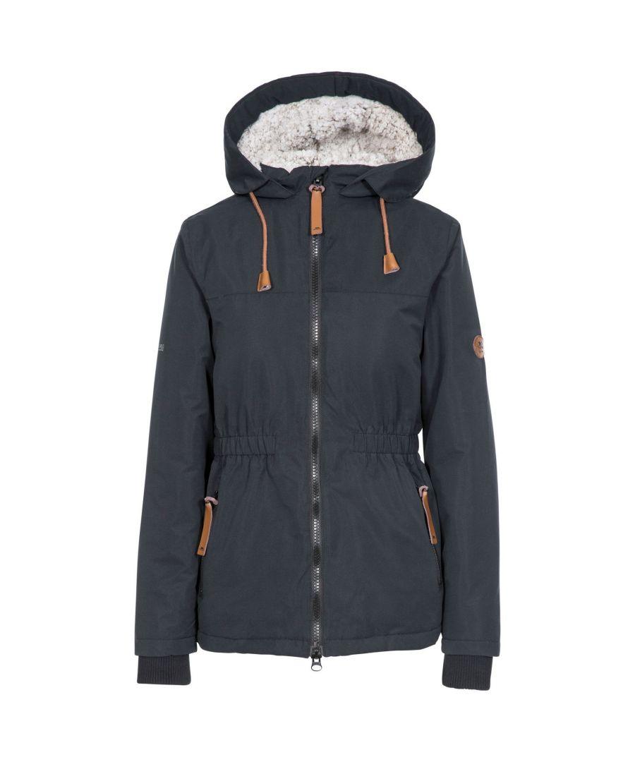 Image for Trespass Womens/Ladies Cassini Padded Jacket (Black)