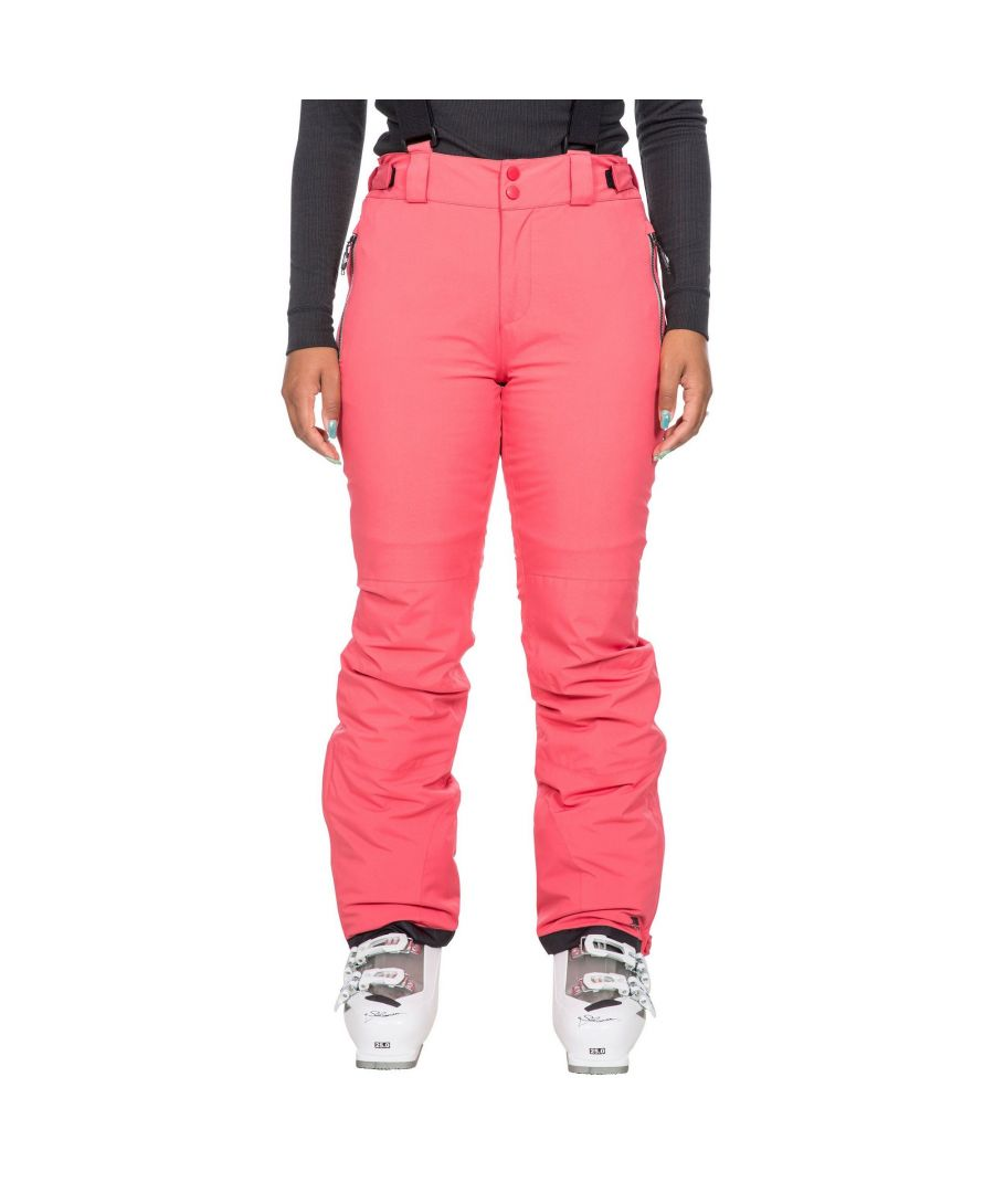 Image for Trespass Womens/Ladies Roseanne Ski Trousers (Hibiscus Red)