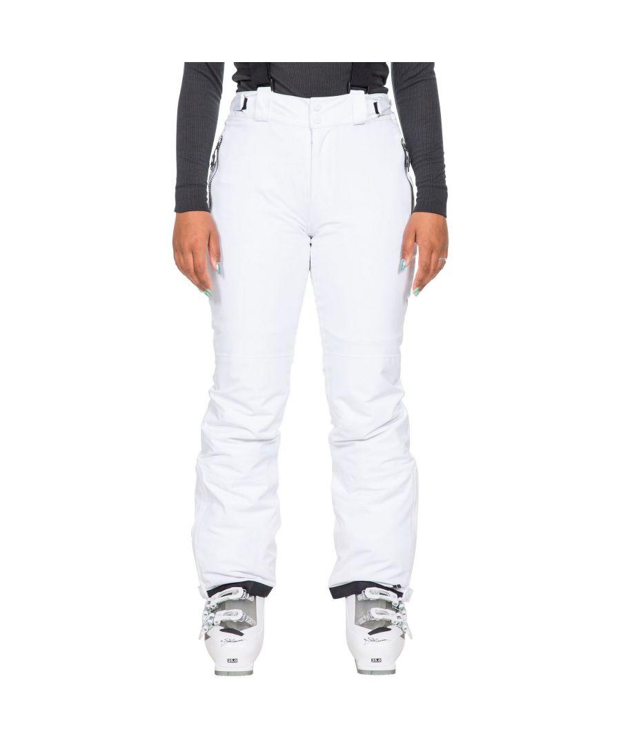 Image for Trespass Womens/Ladies Roseanne Ski Trousers (White)