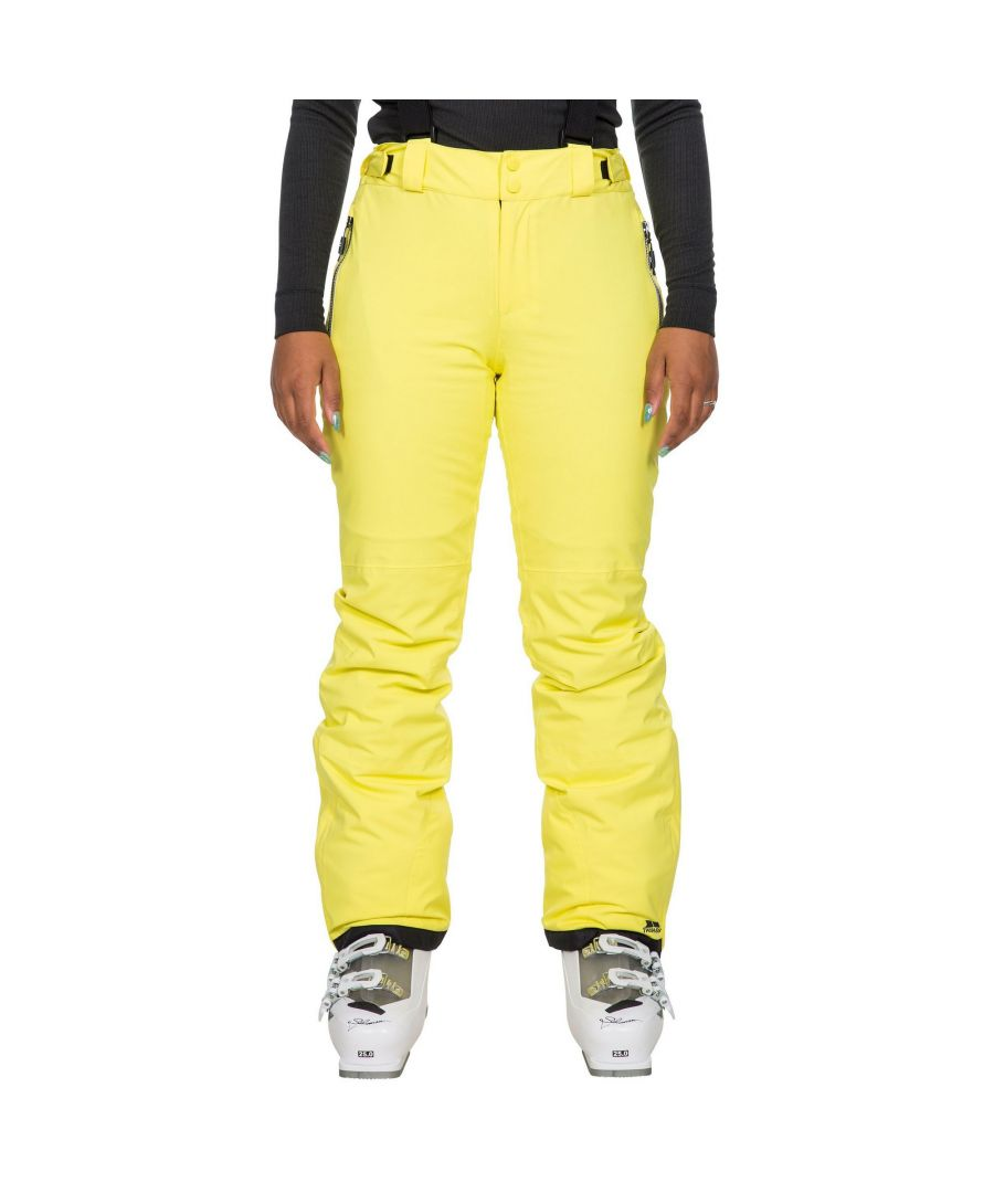 Image for Trespass Womens/Ladies Roseanne Ski Trousers (Yellow)
