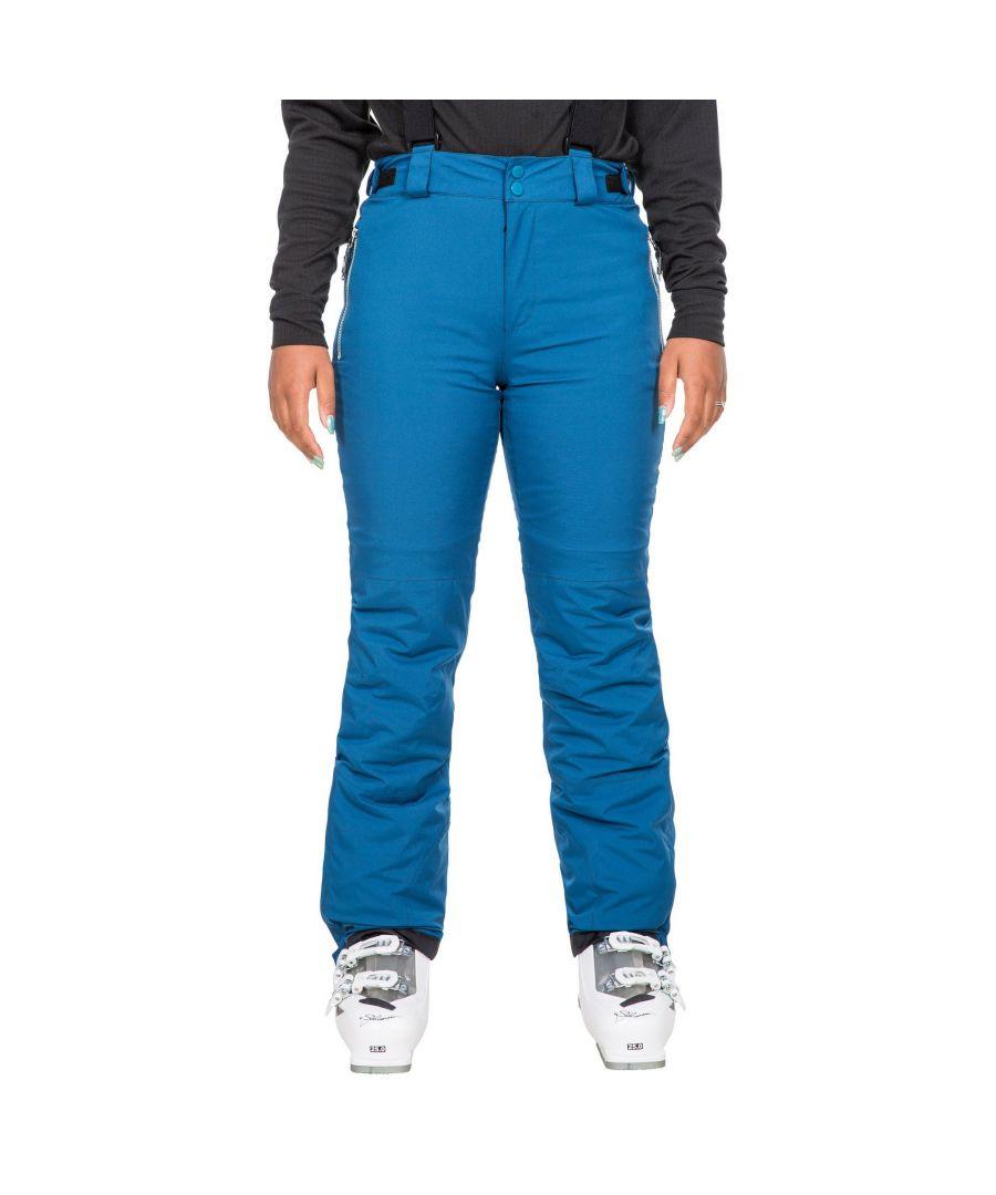 Image for Trespass Womens/Ladies Roseanne Ski Trousers (Cosmic Blue)