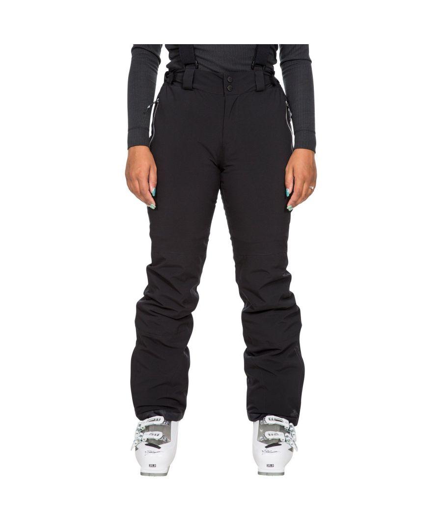 Image for Trespass Womens/Ladies Roseanne Ski Trousers (Black)