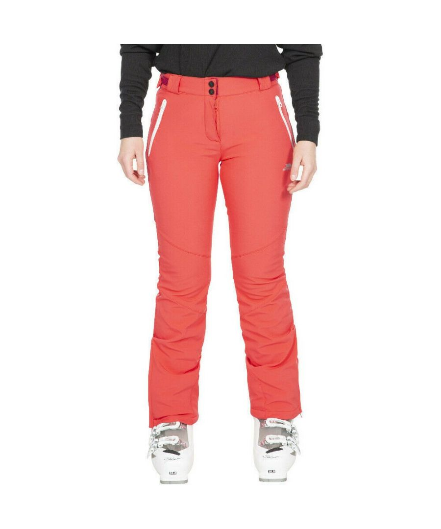 Image for Trespass Womens/Ladies Lois Ski Trousers (Hibiscus Red)