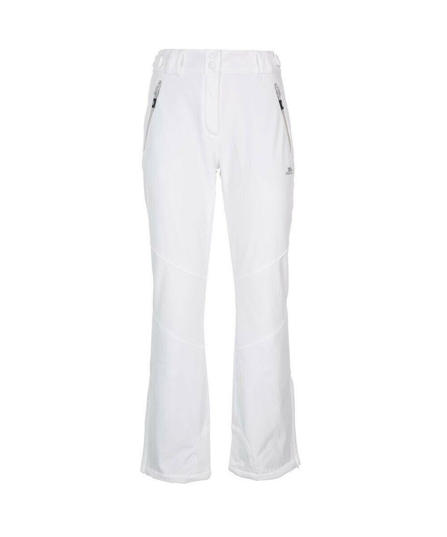 Image for Trespass Womens/Ladies Lois Ski Trousers (White)