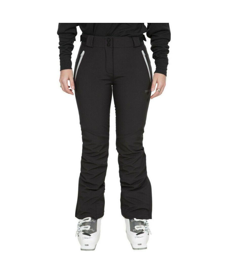 Image for Trespass Womens/Ladies Lois Ski Trousers (Black)