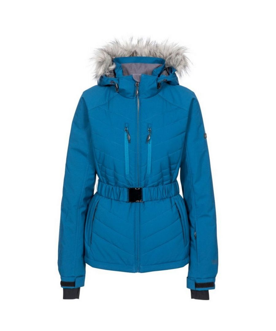 Image for Trespass Womens/Ladies Camila Waterproof Ski Jacket (Cosmic Blue)
