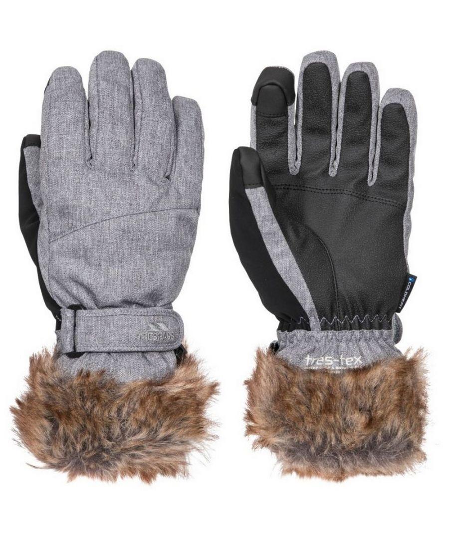 Image for Trespass Womens/Ladies Shiloh Gloves (Platinum)