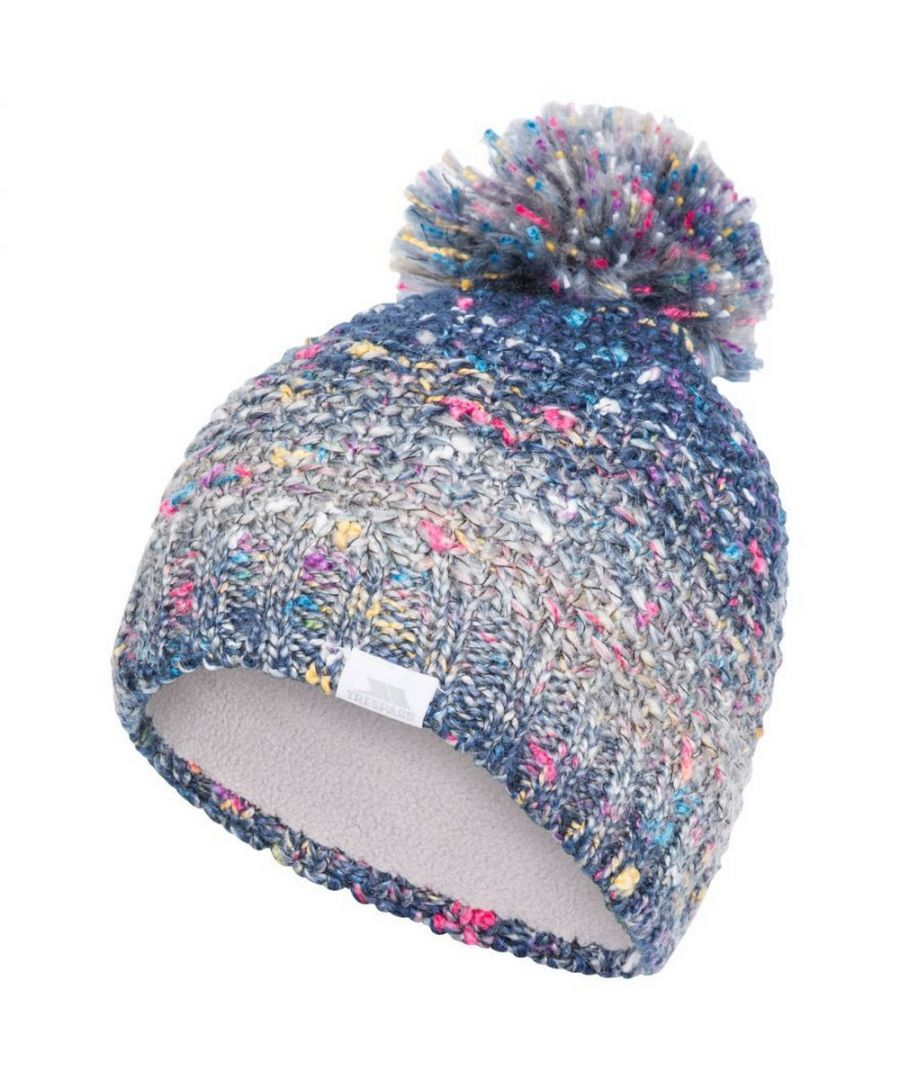 Image for Trespass Womens/Ladies Zabella Knitted Beanie (Cosmic Blue)