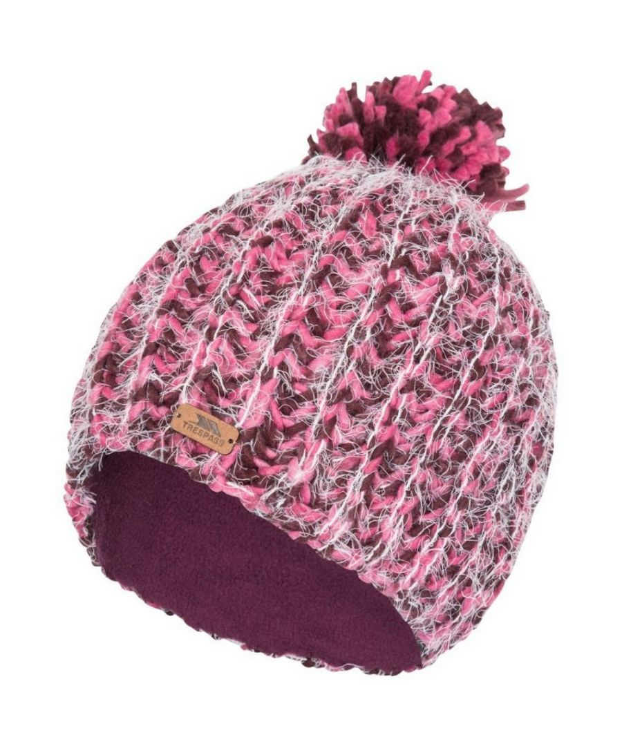 Image for Trespass Womens/Ladies Mullida Knitted Beanie (Fig)