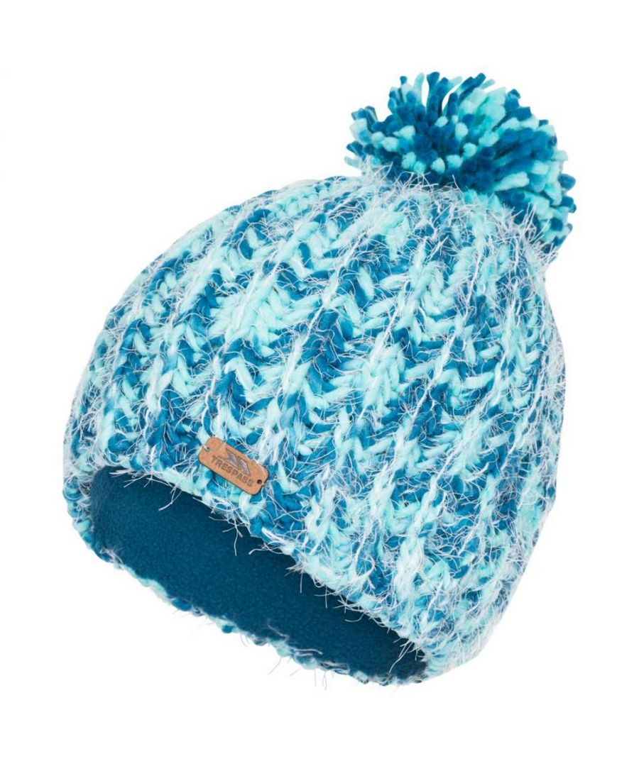 Image for Trespass Womens/Ladies Mullida Knitted Beanie (Cosmic Blue)