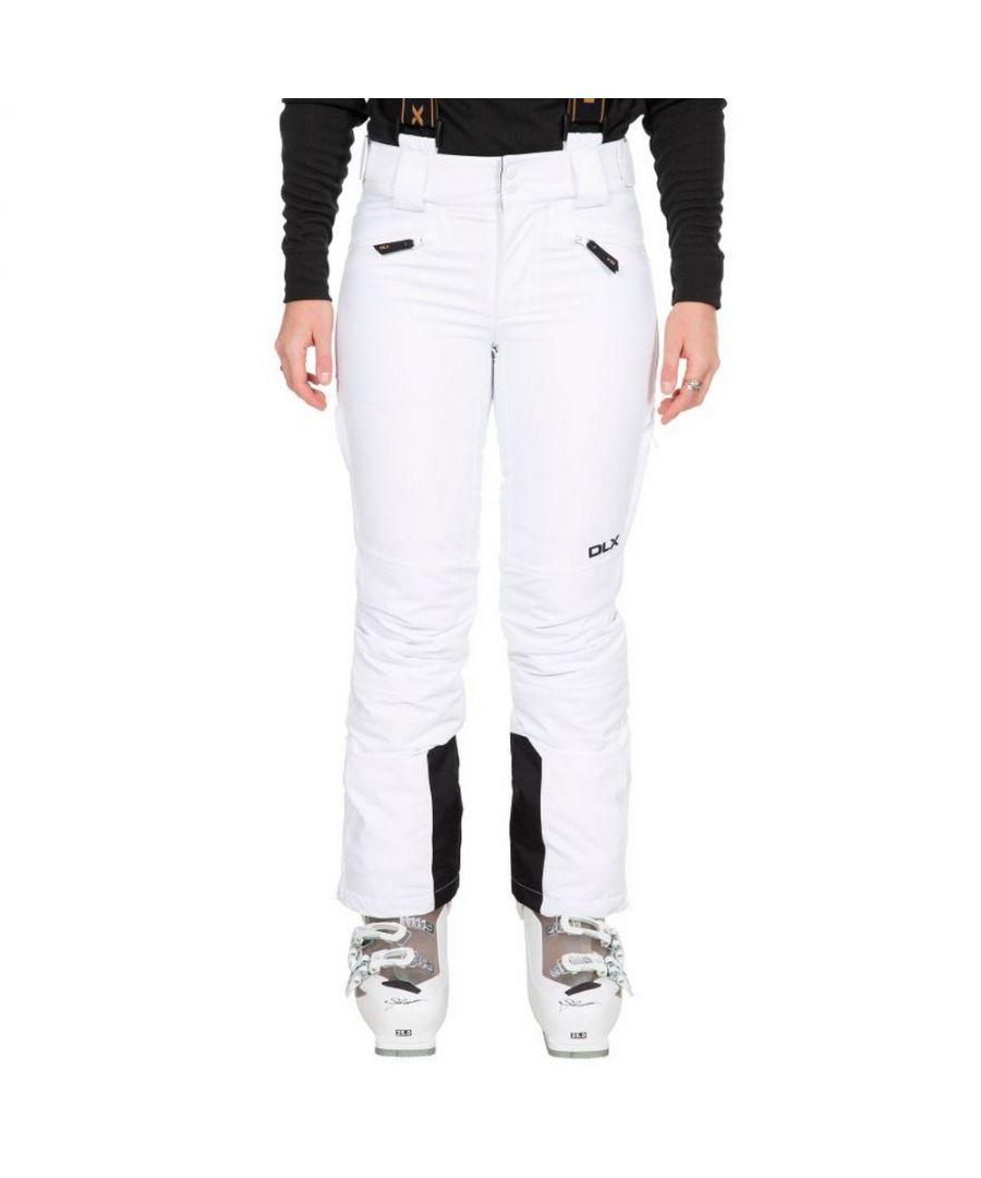 Image for Trespass Womens/Ladies Sylvia Ski Trousers (White)