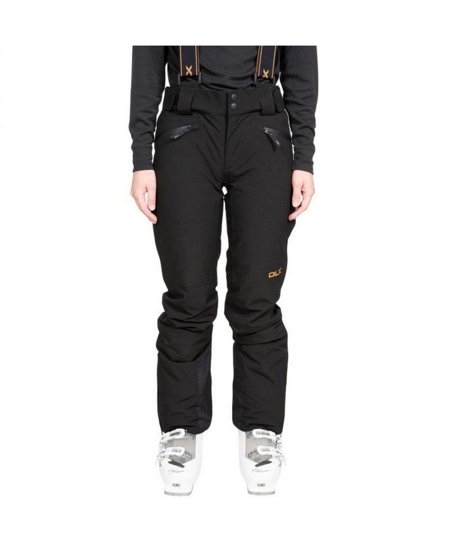 Image for Trespass Womens/Ladies Sylvia Ski Trousers (Black)