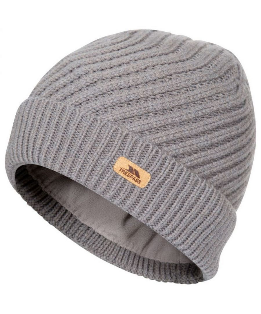 Image for Trespass Womens/Ladies Twisted Knitted Beanie (Storm Grey)