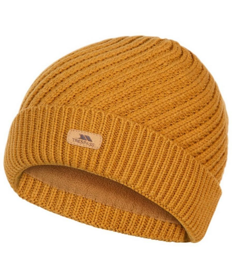 Image for Trespass Womens/Ladies Twisted Knitted Beanie (Sandstone)