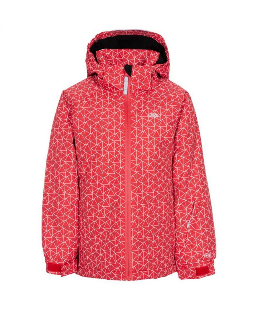Image for Trespass Childrens/Kids Assured Ski Jacket (Red)