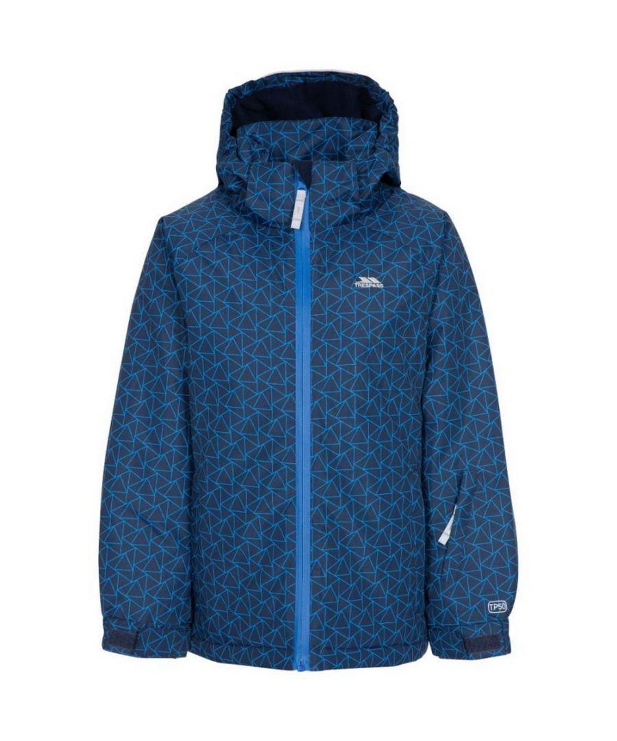 Image for Trespass Childrens/Kids Assured Ski Jacket (Navy)