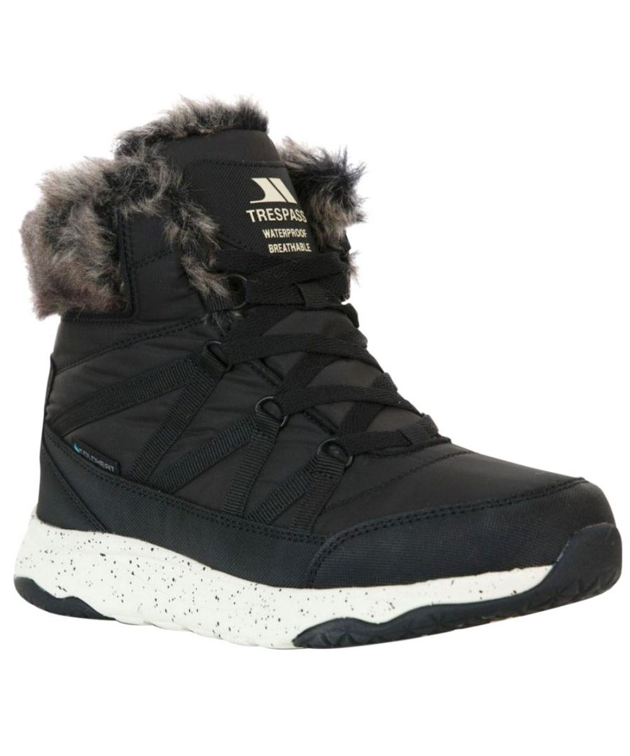 Image for Trespass Womens/Ladies Kenna Winter Boots (Black)