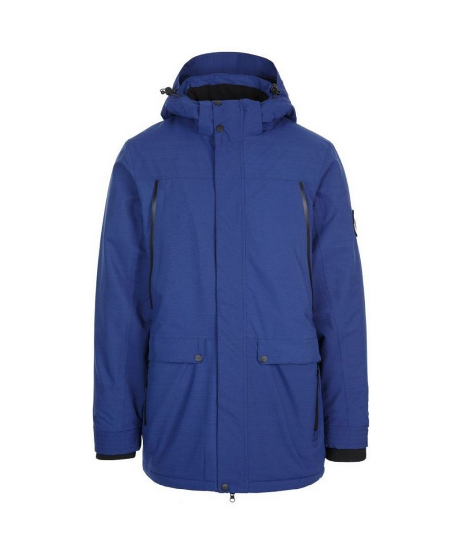 Image for Trespass Mens Harris Waterproof Jacket (Blue)