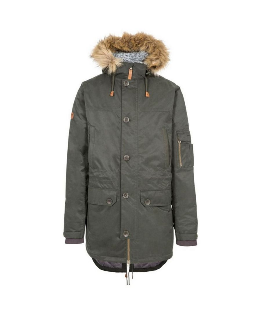 Image for Trespass Mens Pyworthy Waterproof Parka (Olive)