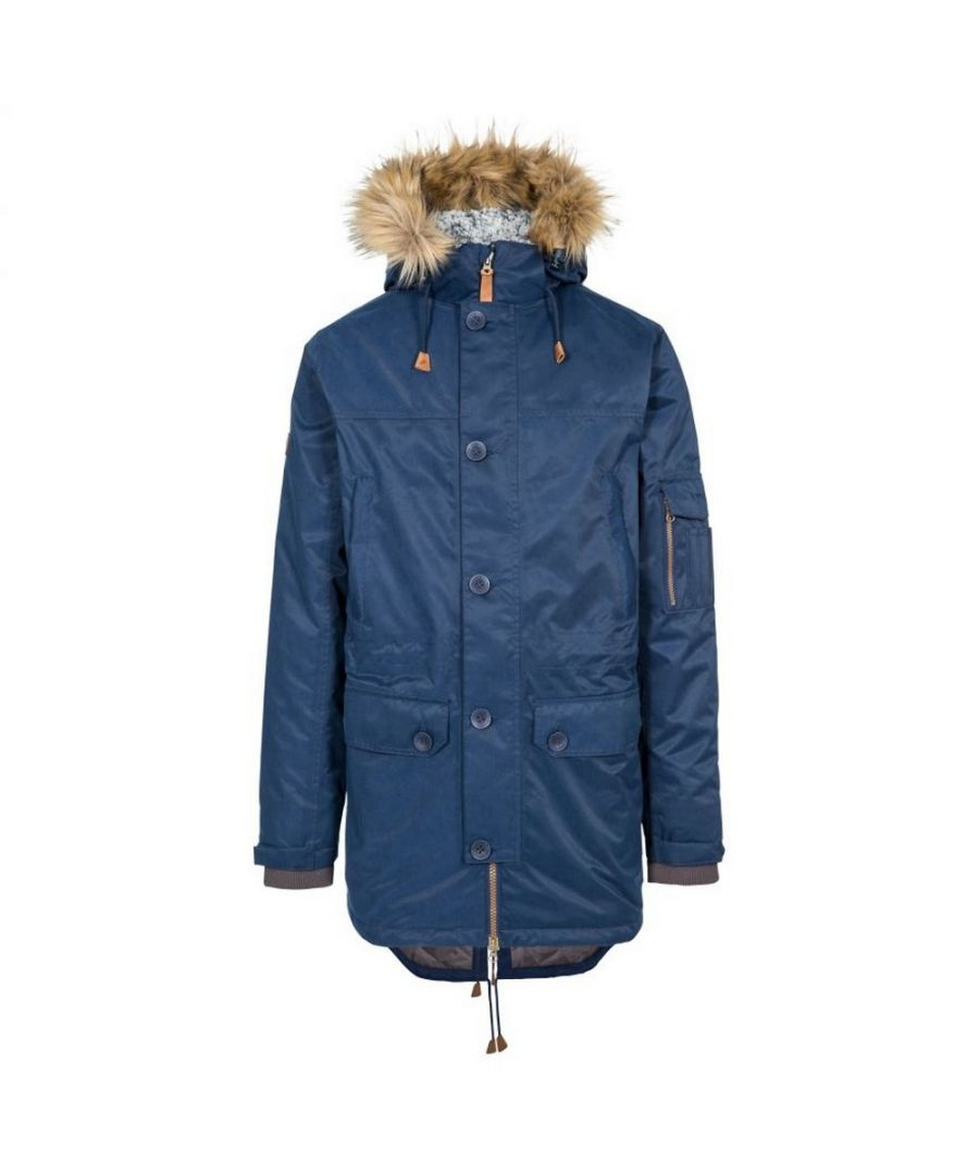 Image for Trespass Mens Pyworthy Waterproof Parka (Navy)
