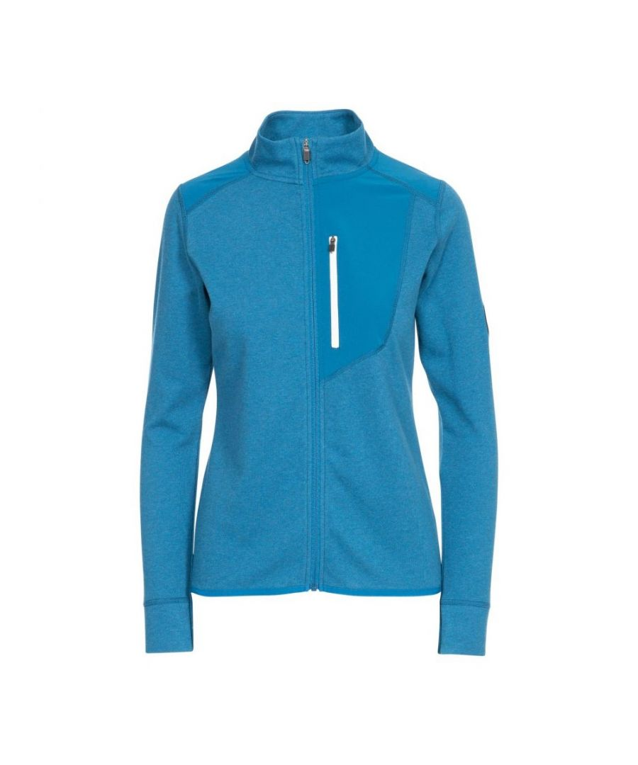 Image for Trespass Womens/Ladies Kacey DLX Sports Top (Cosmic Blue Marl)