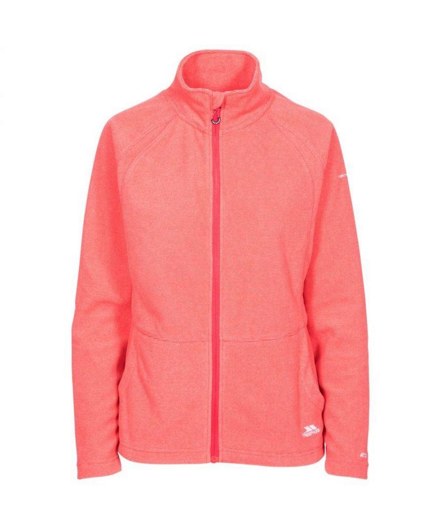 Image for Trespass Womens/Ladies Rossetti Fleece Jacket (Hibiscus Red)