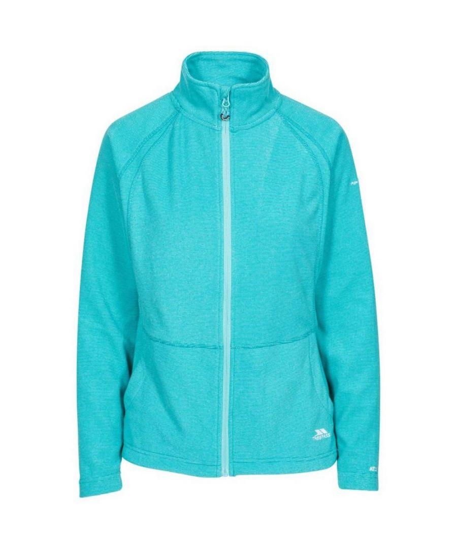 Image for Trespass Womens/Ladies Rossetti Fleece Jacket (Aquamarine)