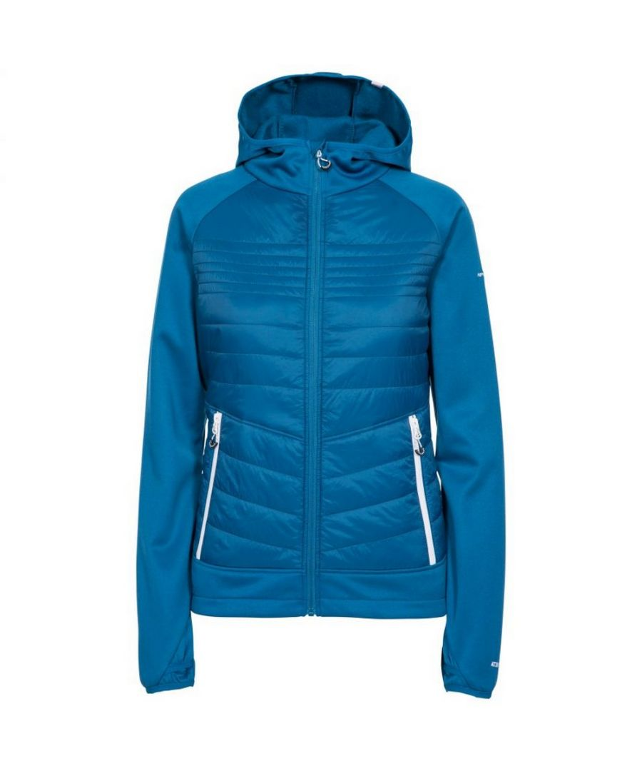 Image for Trespass Womens/Ladies Finito Fleece Jacket (Cosmic Blue)