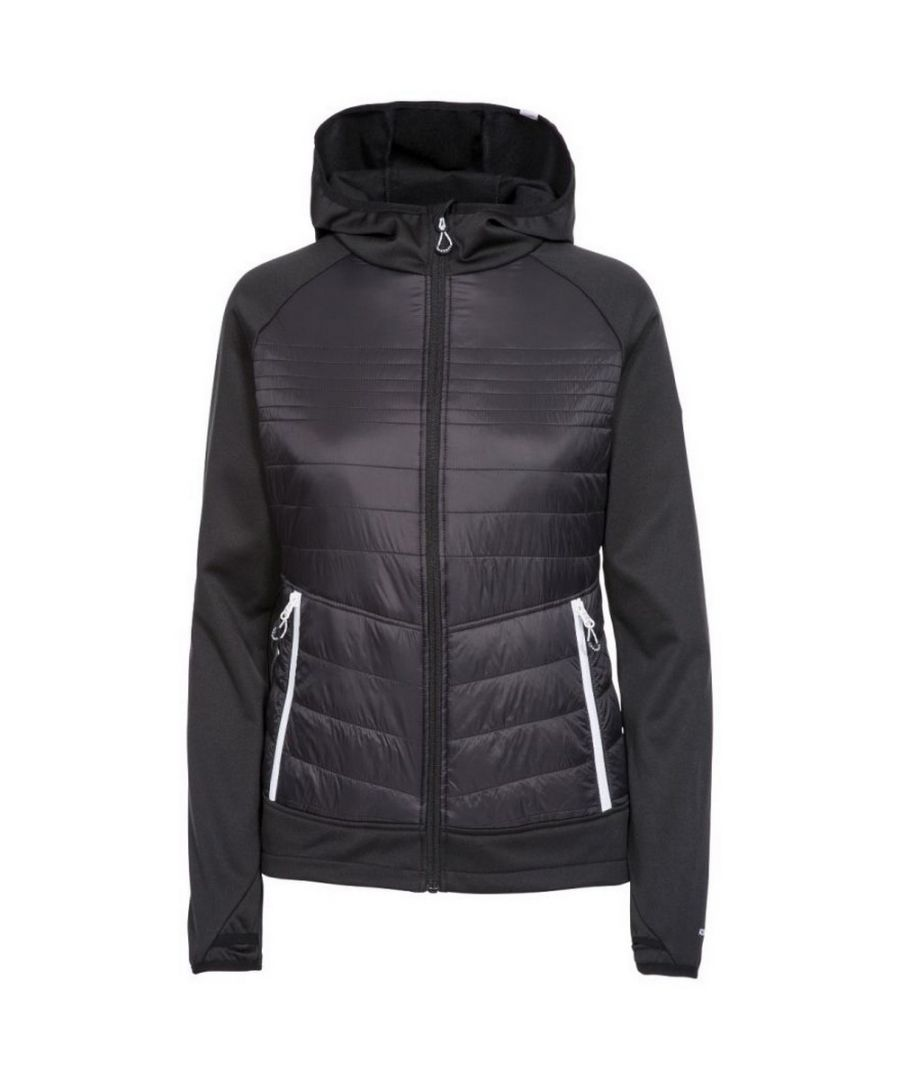 Image for Trespass Womens/Ladies Finito Fleece Jacket (Black)