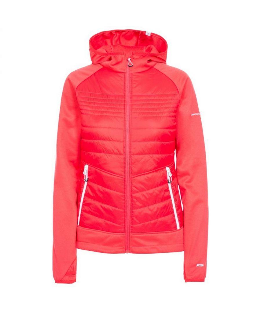 Image for Trespass Womens/Ladies Finito Fleece Jacket (Hibiscus Red)