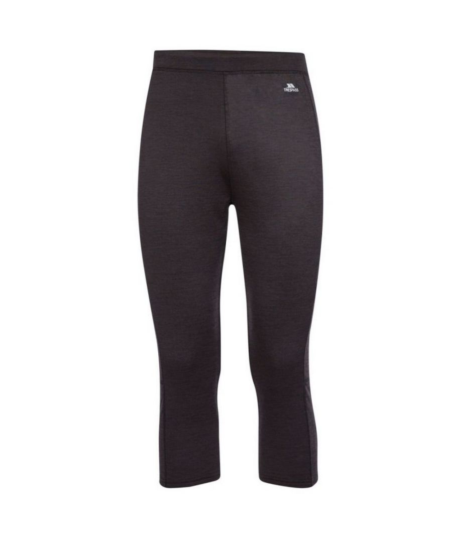 Image for Trespass Mens Diego Thermal Bottoms (Dark Grey)