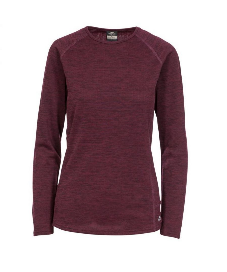 Image for Trespass Womens/Ladies Racquel Thermal Top (Fig)