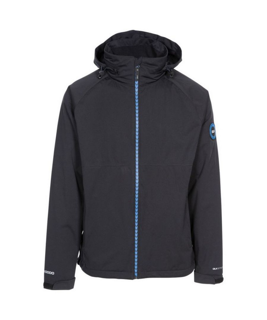 Image for Trespass Mens Kyle DLX Waterproof Jacket (Black)